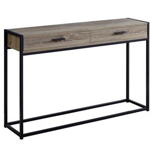 "Table d'appoint Monarch, 48"" x 32"", composite, taupe foncé"