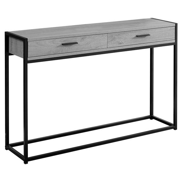 Monarch 48-in x 32-in Gray Composite Accent Table