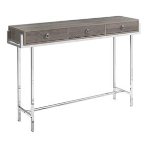 "Table d'appoint Monarch, 48"" x 31,75"", composite, brun"