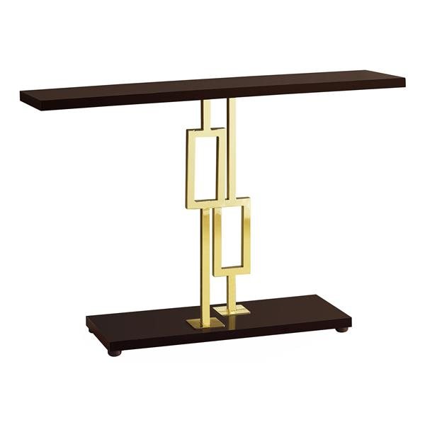 """Table d'appoint Monarch, 47,25"""" x 31,75"""", cappuccino"""