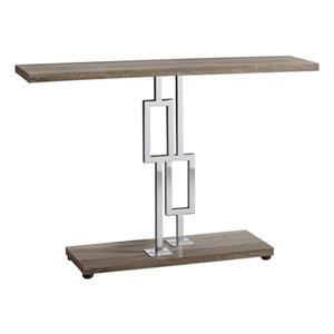 "Table d'appoint Monarch, 47,25"" x 31,75"", composite, brun"
