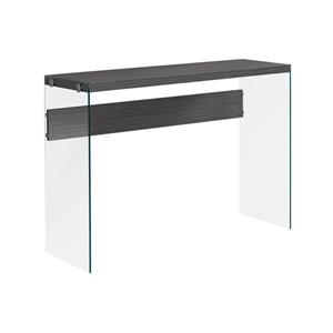 Monarch 32-in  Composite Gray Accent Table