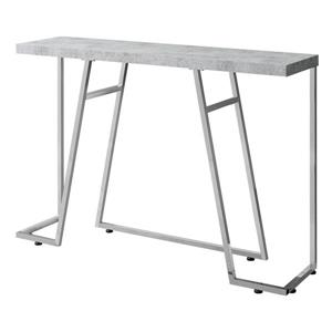 "Table d'appoint Monarch, 47,25"" x 32"", gris"