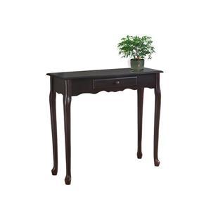 """Table d'appoint Monarch, 36"""" x 32,25"""", composite, brun"""