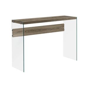 "Table d'appoint Monarch, 44"" x 32"", composite, brun"