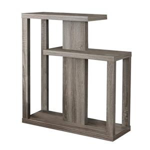 Monarch 34-in Brown Composite Accent Table