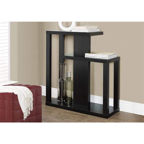 Monarch 34-in Cappuccino Composite Accent Table