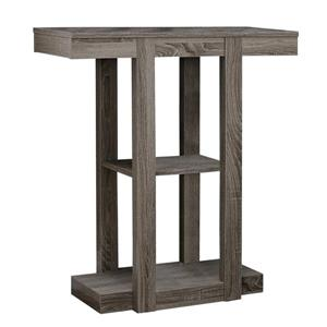 "Table d'appoint Monarch, 34"", composite, taupe foncé"