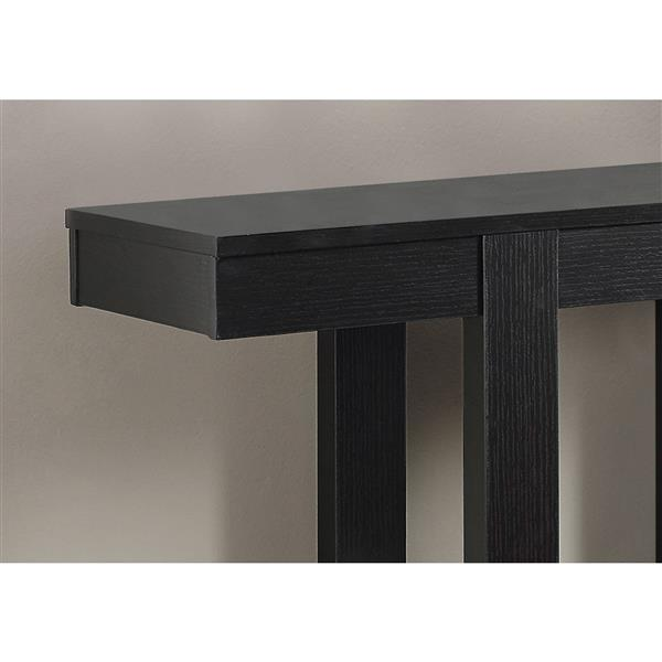 Monarch 31.5-in x 34-in Composite Brown Accent Table
