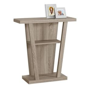 Monarch 31.5-in x 33.75-in Composite Brown Accent Table