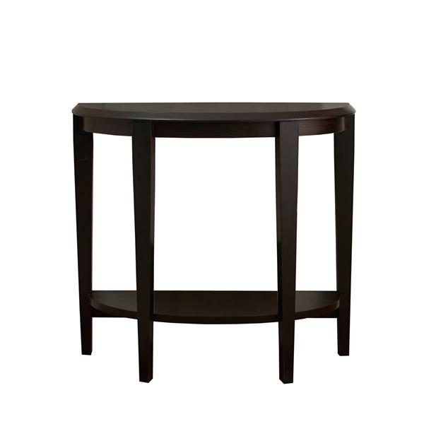 Monarch 36-in x 32.5-in Brown Composite Accent Table
