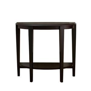"""Table d'appoint Monarch, 36"""" x 32,5"""", composite, brun"""