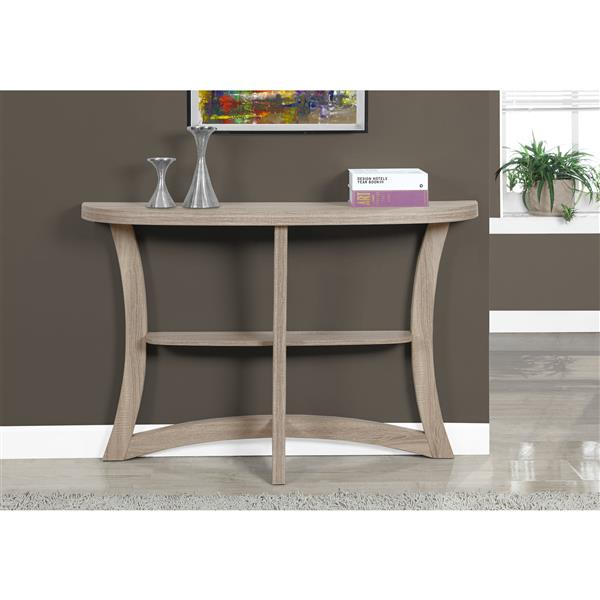 "Table d'appoint Monarch, 32"", composite, taupe foncé"