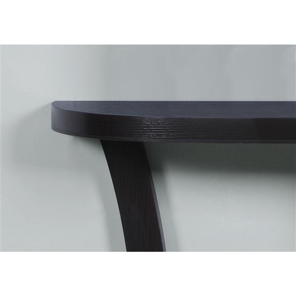 Monarch 47.25-in Cappuccino Composite Accent Table