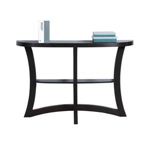 "Table d'appoint Monarch, 47,25"", composite, cappuccino"