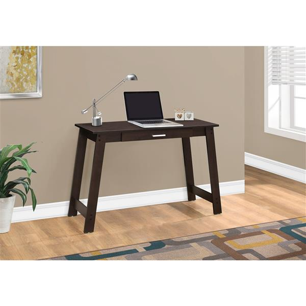 Monarch Specialties Monarch 42.00-In x 29.25-In Dark Brown Computer Desk
