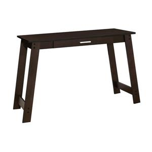 "Bureau d'ordinateur Monarch, 42"" x 29,25"", bois, brun"