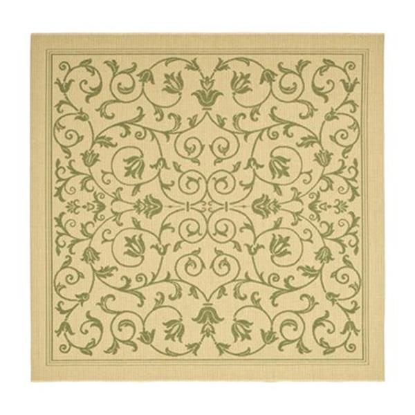 Safavieh CY2098-1E01 Courtyard Indoor/Outdoor Area Rug, Beig