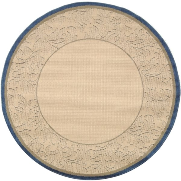 Safavieh CY2666-3101 Courtyard Indoor/Outdoor Area Rug, Beig