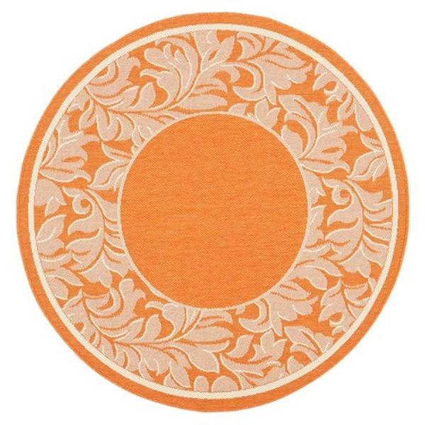 Safavieh CY2666-3202 Courtyard Indoor/Outdoor Area Rug, Red,