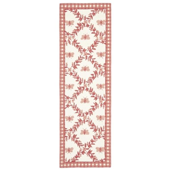 Safavieh Chelsea 30-in. Ivory/Rose Runner