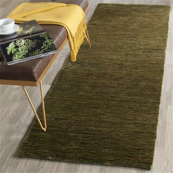 Safavieh Bohemian 30-in. Green Runner