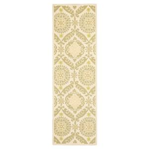 Safavieh Chelsea 30-in. Beige/Green Runner
