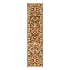 Safavieh Chelsea 30-in. Red/Ivory Runner