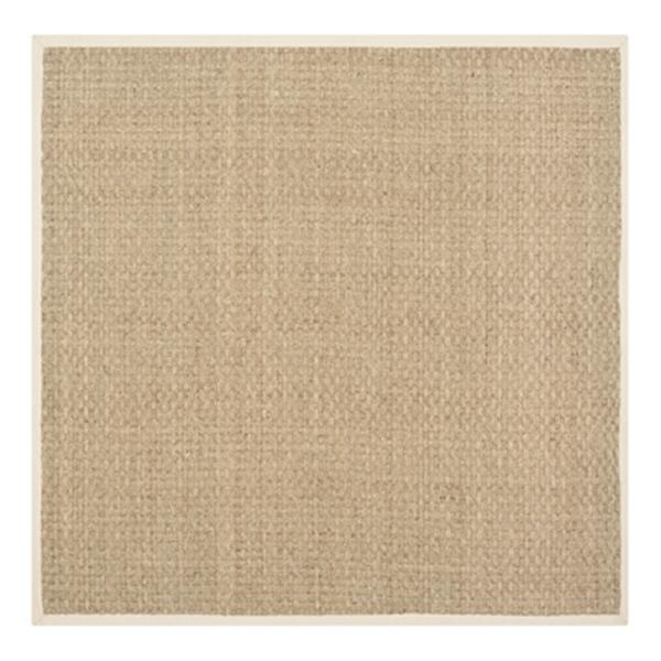 Safavieh Natural Fiber Natural and Beige Area Rug,NF114A-6SQ