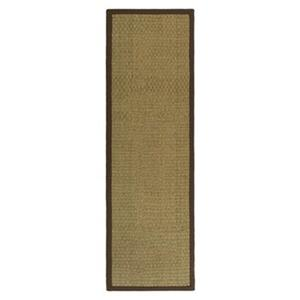 Safavieh Natural Fiber 30-in. Beige/Rust Runner