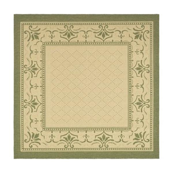 Safavieh CY0901-1E01 Courtyard Indoor/Outdoor Area Rug, Natu