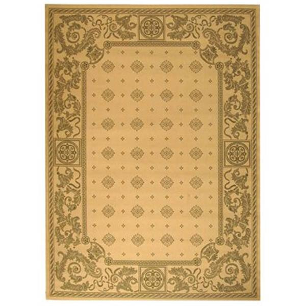 Safavieh CY1356-1E01 Courtyard Indoor/Outdoor Area Rug, Natu