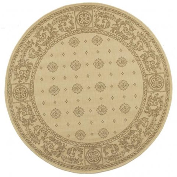 Safavieh CY1356-3001 Courtyard Indoor/Outdoor Area Rug, Natu