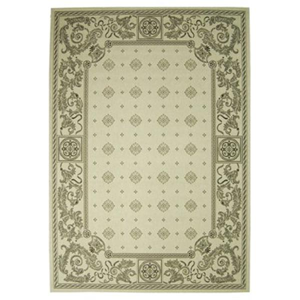 Safavieh CY1356-3901 Courtyard Indoor/Outdoor Area Rug, Sand