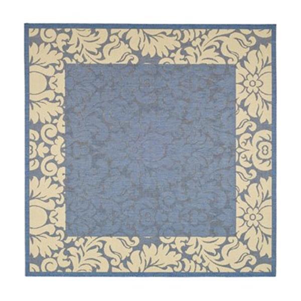 Safavieh CY2727-3103 Courtyard Indoor/Outdoor Area Rug, Blue