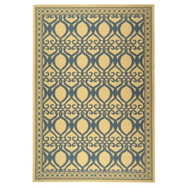 Safavieh CY3040-3101 Courtyard Indoor/Outdoor Area Rug, Natu