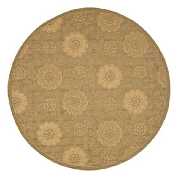 Safavieh CY6948-49 Courtyard Indoor/Outdoor Area Rug, Gold,C