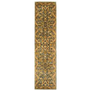 Safavieh Antiquities 27-in Blue/Gold Runner