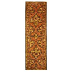 Safavieh Antiquities 27-in Sage/Gold Runner