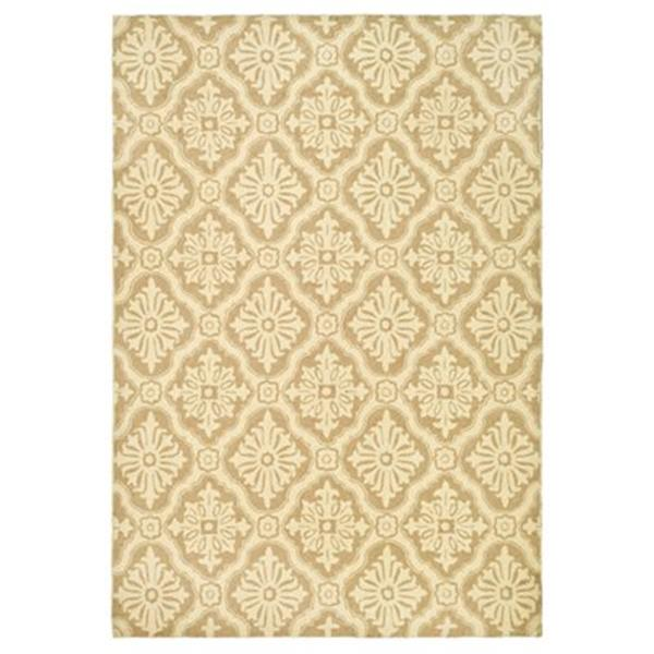 Safavieh DuraRug 30-in Creme Runner