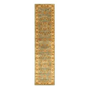 Safavieh Heritage 27-in Beige/Blue Runner