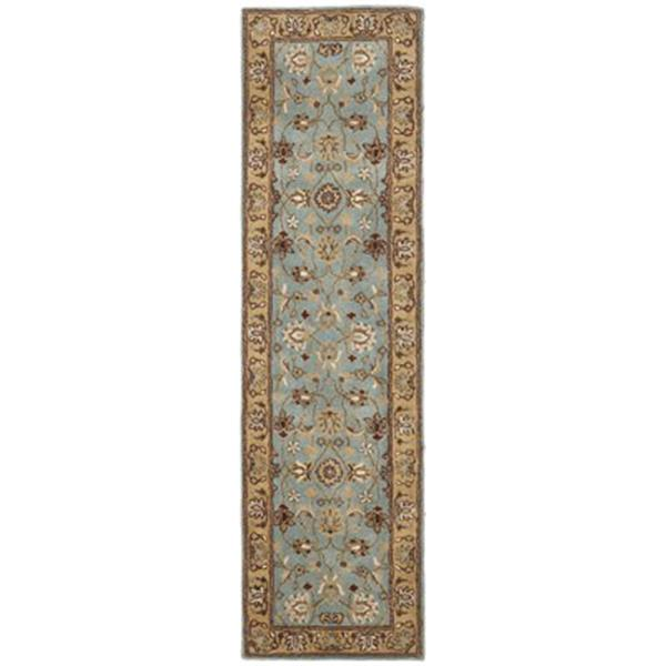 Safavieh Heritage 27-in Blue Gold Runner