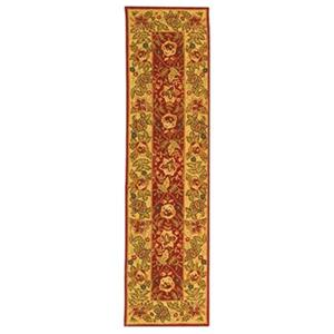 Safavieh Chelsea 30-in Red/Ivory Runner