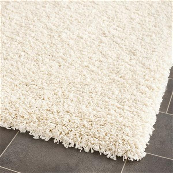 Safavieh California Shag 27-in Ivory Runner