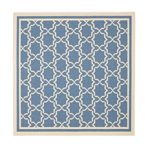 Safavieh CY6916-243 Courtyard Indoor/Outdoor Area Rug, Blue/