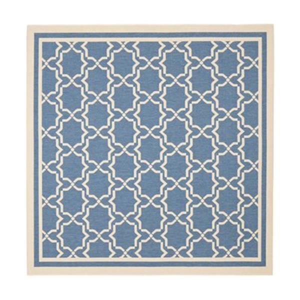 Safavieh CY6916-243 Courtyard Indoor/Outdoor Area Rug, Blue/