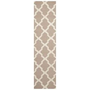 Safavieh Cambridge 30-in Beige/Ivory Runner
