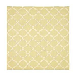 Safavieh DHU554A Dhurries Area Rug, Light Green / Ivory,DHU5