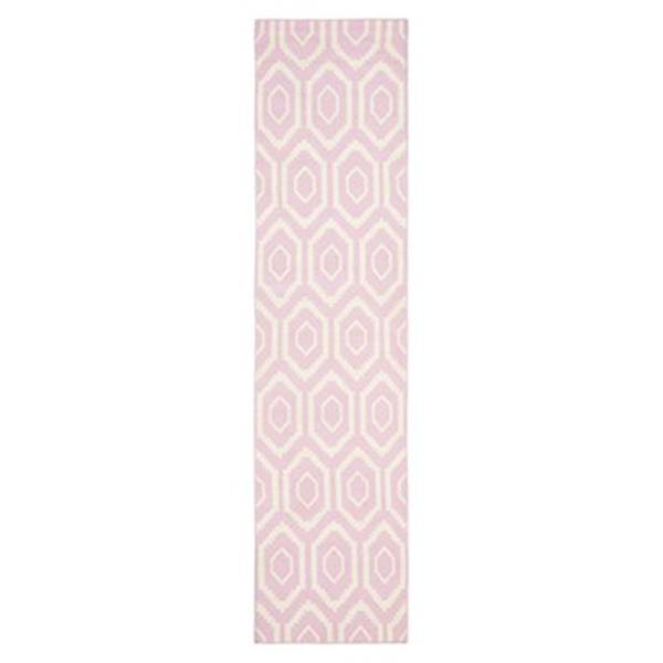 Safavieh Dhurries 30-in. Pink/Ivory Runner