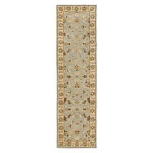 Safavieh Heritage 27-in. Light Blue/Beige Runner